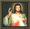 Divine Mercy Image, Jesus blessing, Rays of Hope,